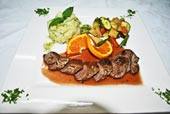 ©Vaima Restaurant - Orange Glaze Lamb